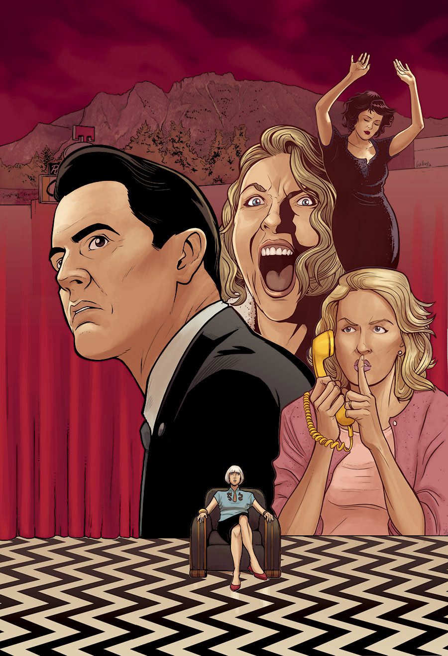 TWIN PEAKS THE RETURN FANART